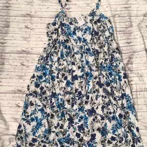 Torrid size 3 Moody floral dress blues